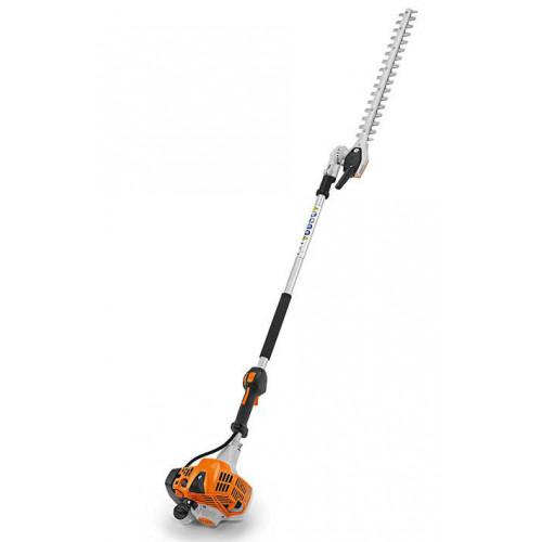 STIHL HL92 KC-E Petrol 145° Adjustable Long Reach Hedge Trimmer - Short Shaft