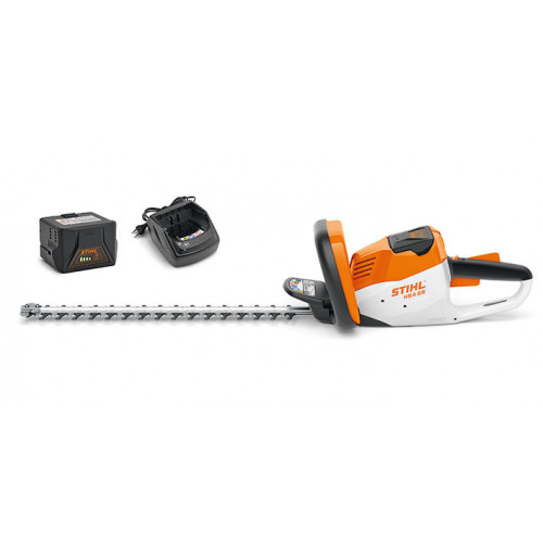 """STIHL HSA 56 18""""/45cm Cordless Hedge Trimmer - Two Battery Package"""