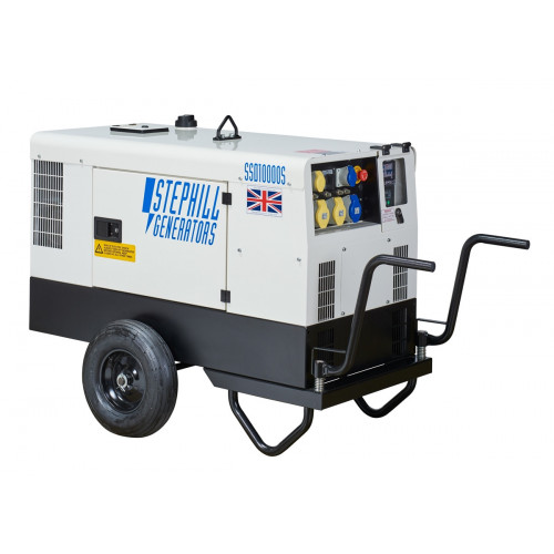 STEPHILL SSD 10000S Generator Push Trolley