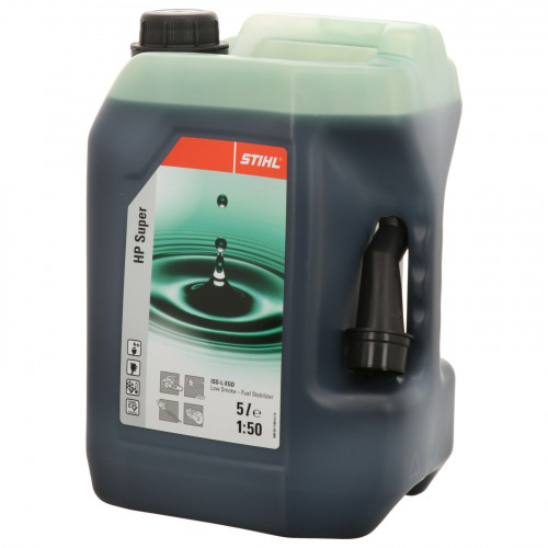Stihl HP Super Two-Stroke Engine Oil 5 Litre  - 07813198055
