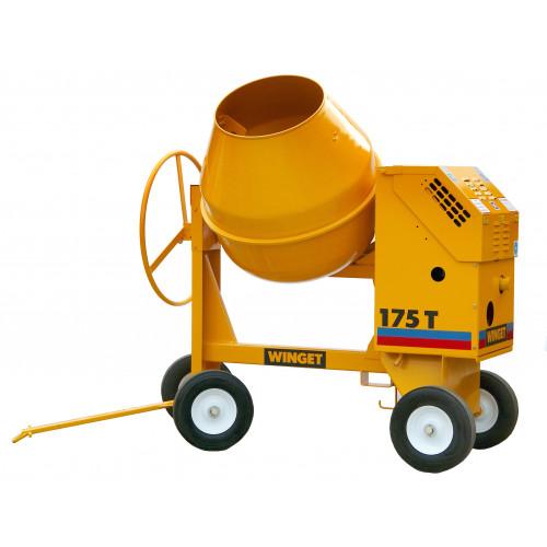 WINGET 175T Diesel Electric Start 175 Litre Cement Mixer