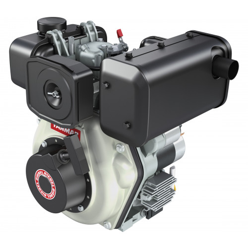 "YANMAR L48V Diesel Engine with Electric Start - 3/4"" Crankshaft"